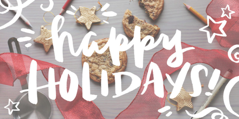 Happy Holidays Banner 2