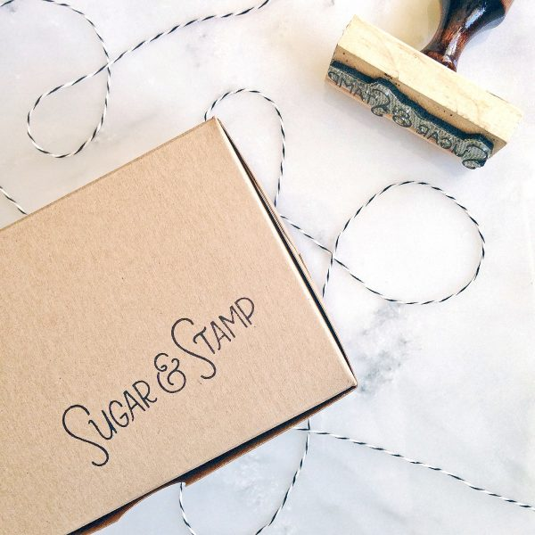 Sugar & Stamp Box