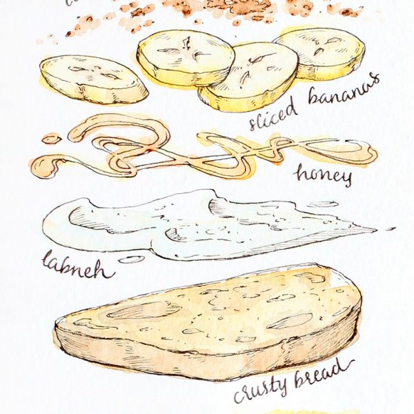 Saturday Toast Recipe 01
